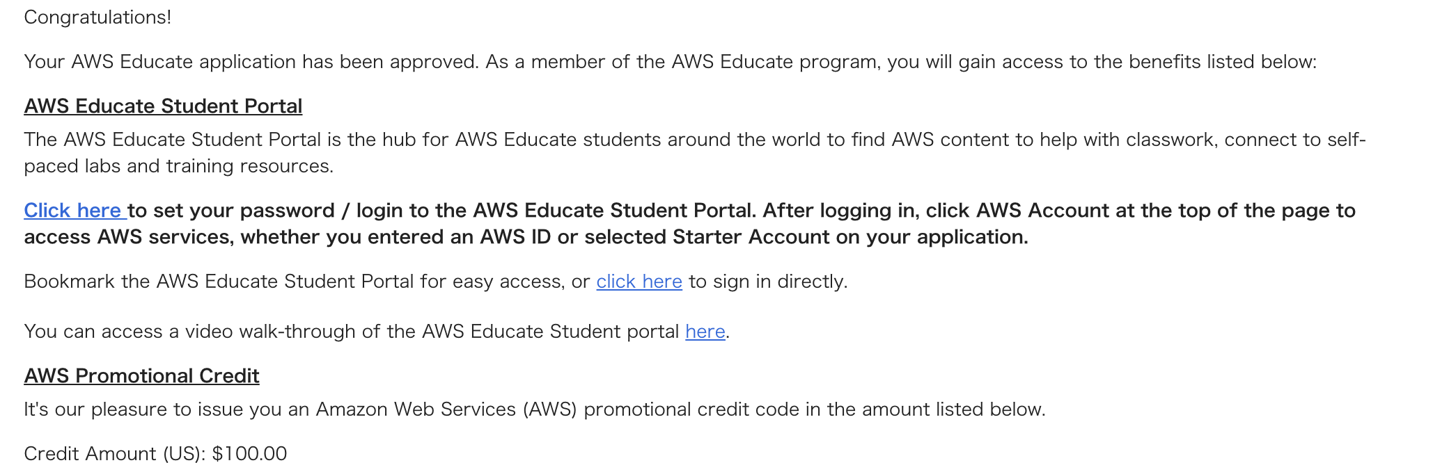 AWS educationに登録した static/images/post/aws_education_mail.png